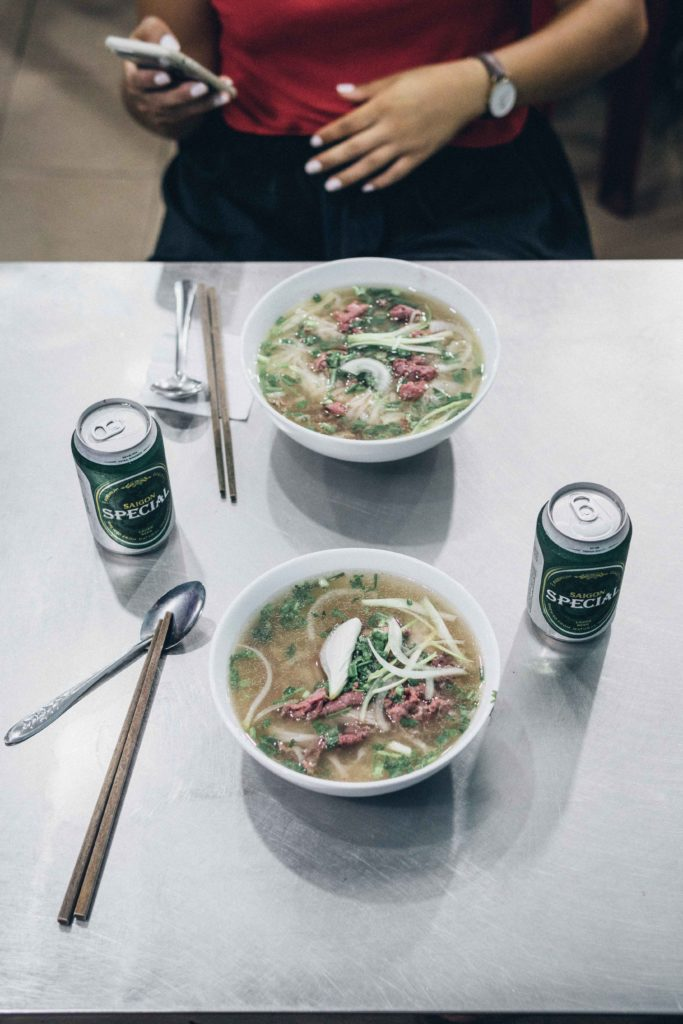 Eating Pho Bo in HCMC with a Saigon Special