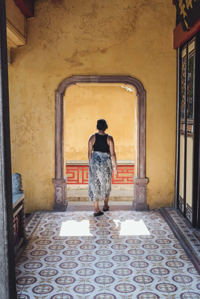 Exploring an Assembly hall in Hoi An