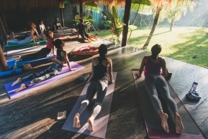 Our first yoga retreat experience – My Light & Bliss
