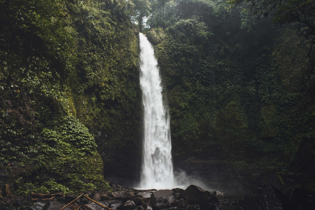 Nungnung the best waterfall in Bali Indonesia