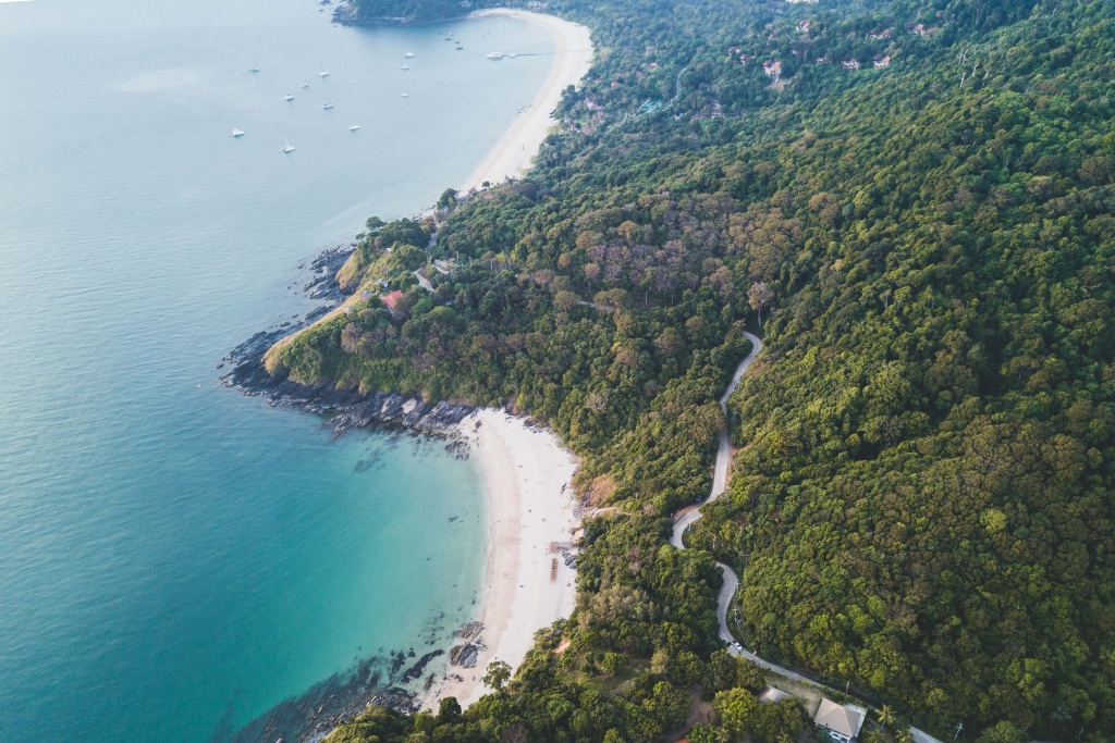 Koh Lanta in the Thai Islands drone photography