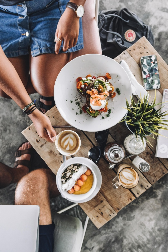 Breakfast at Crate Cafe Canggu