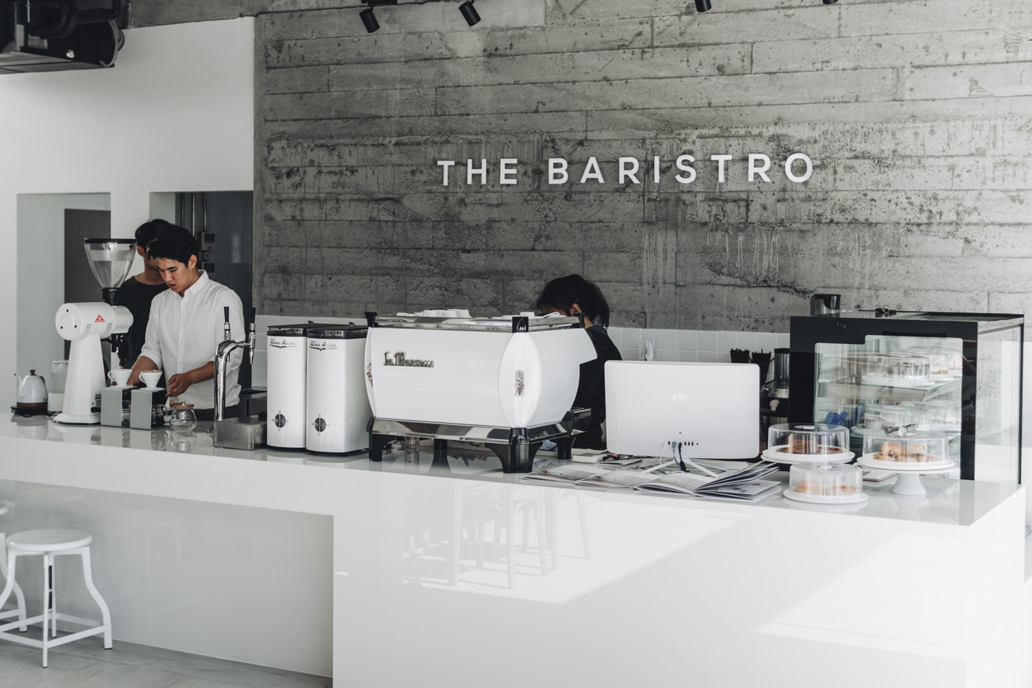 The baristro at ping river coffee shop