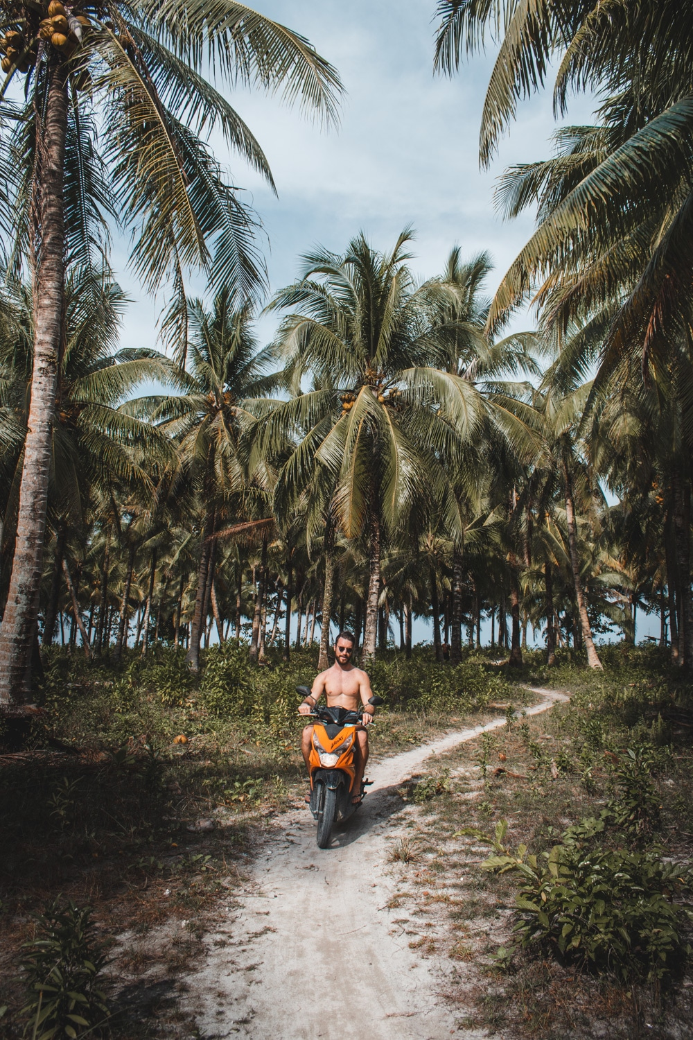 Motorbiking through Siargao