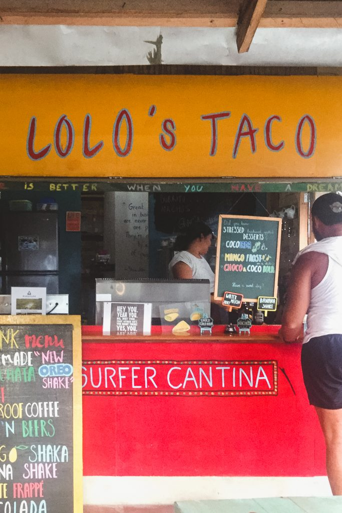 Lolo's Tacos Siargao Philippines