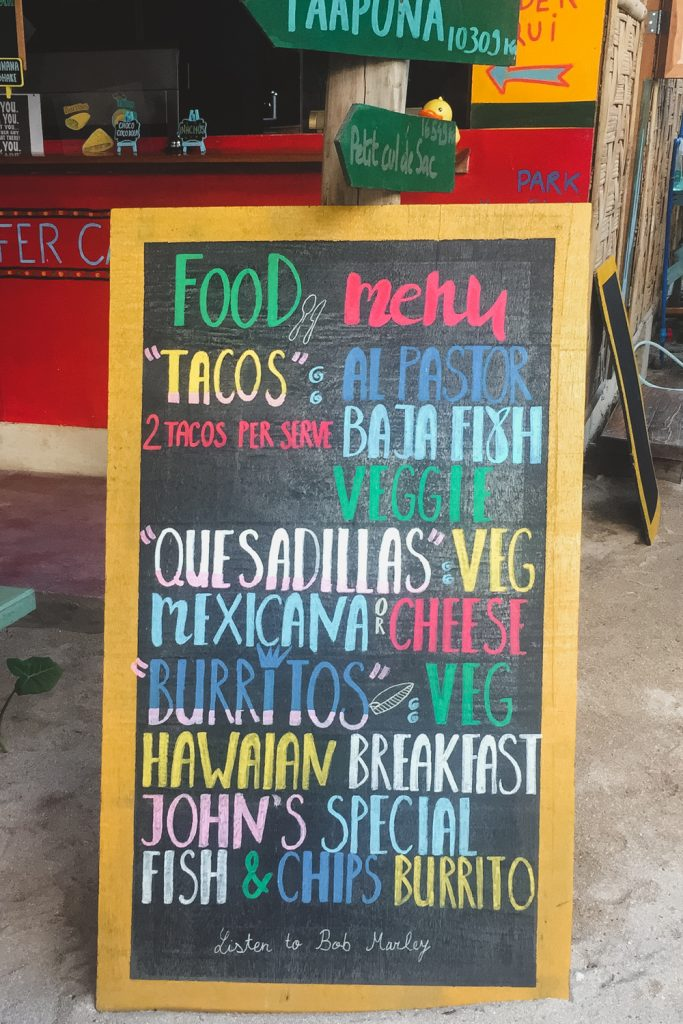 Lolo's Tacos on Siargao island Philippines