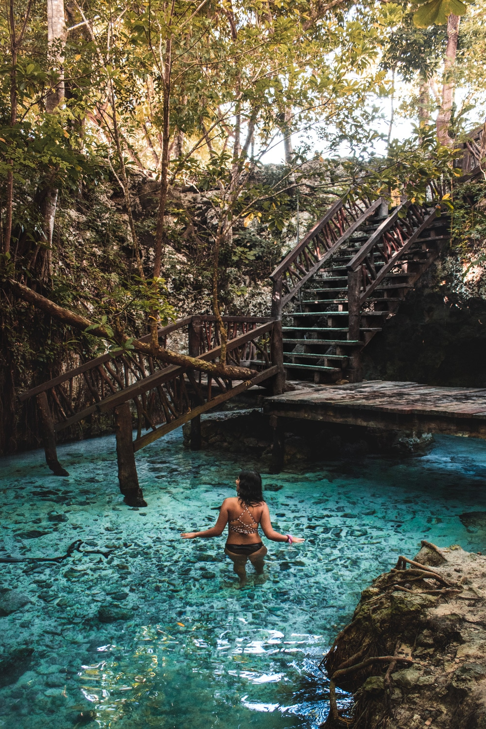 grand cenote in tulum visiting on a budget
