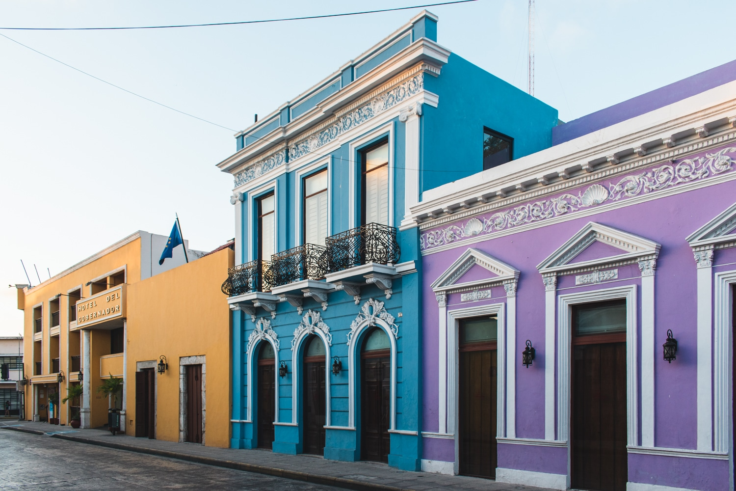 Streets of the Yucatan full of colour