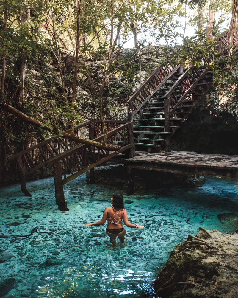 the grand cenote in tulum mexico