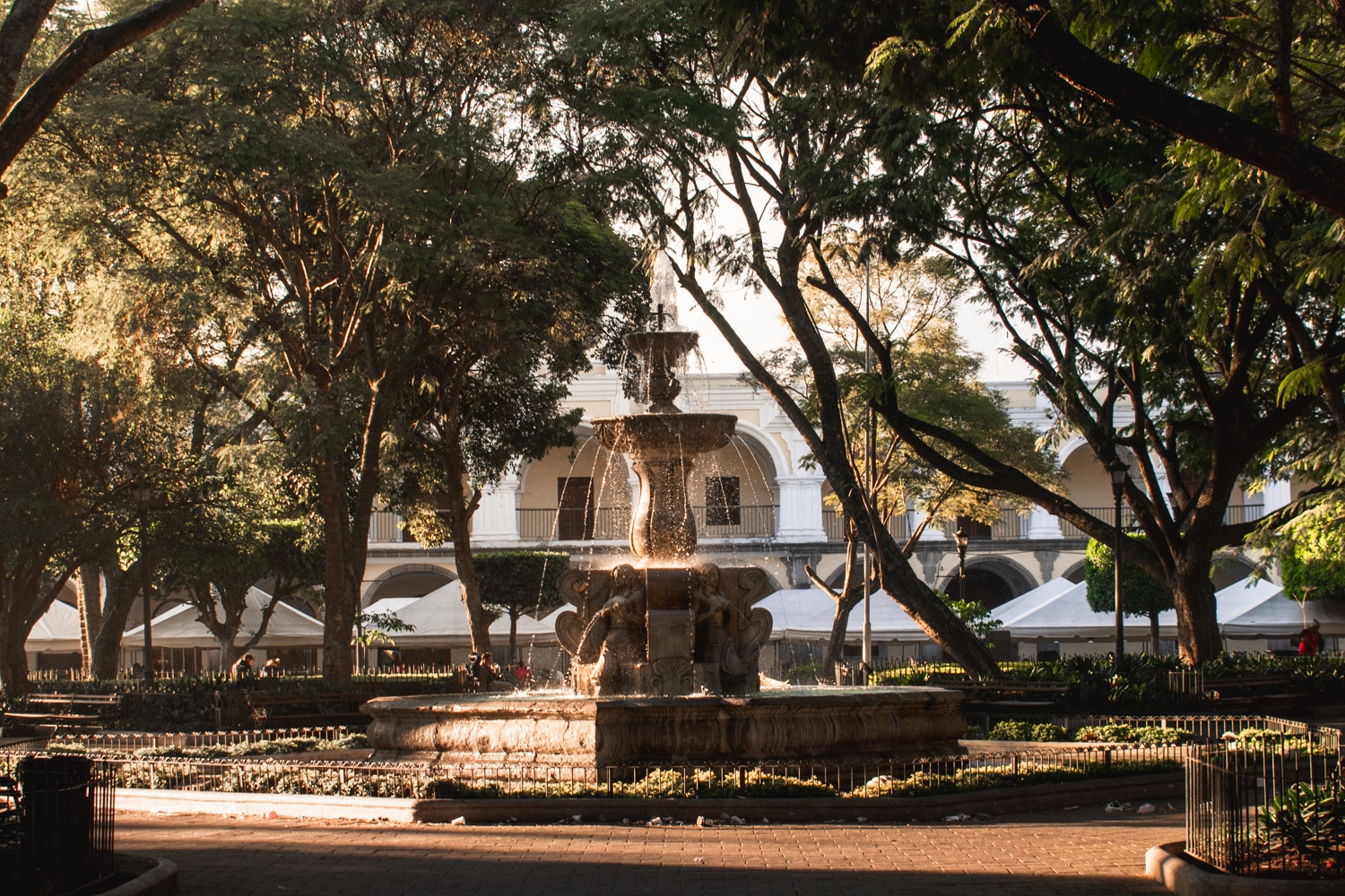 parque central of antigua guatemala