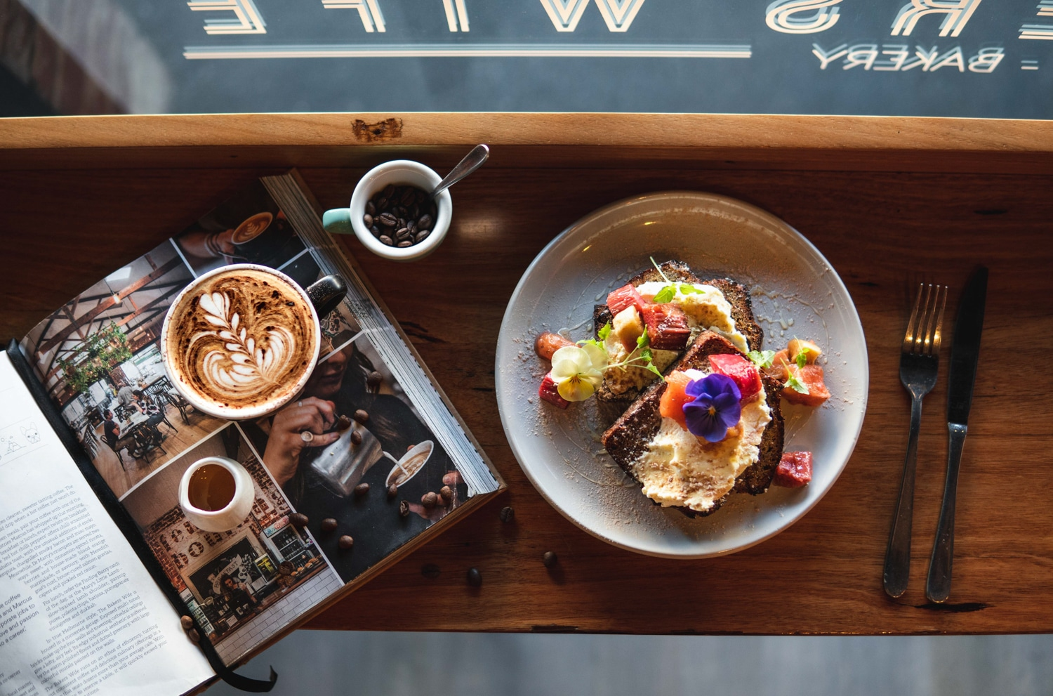 The Bakers Wife Cafe Melbourne Australia