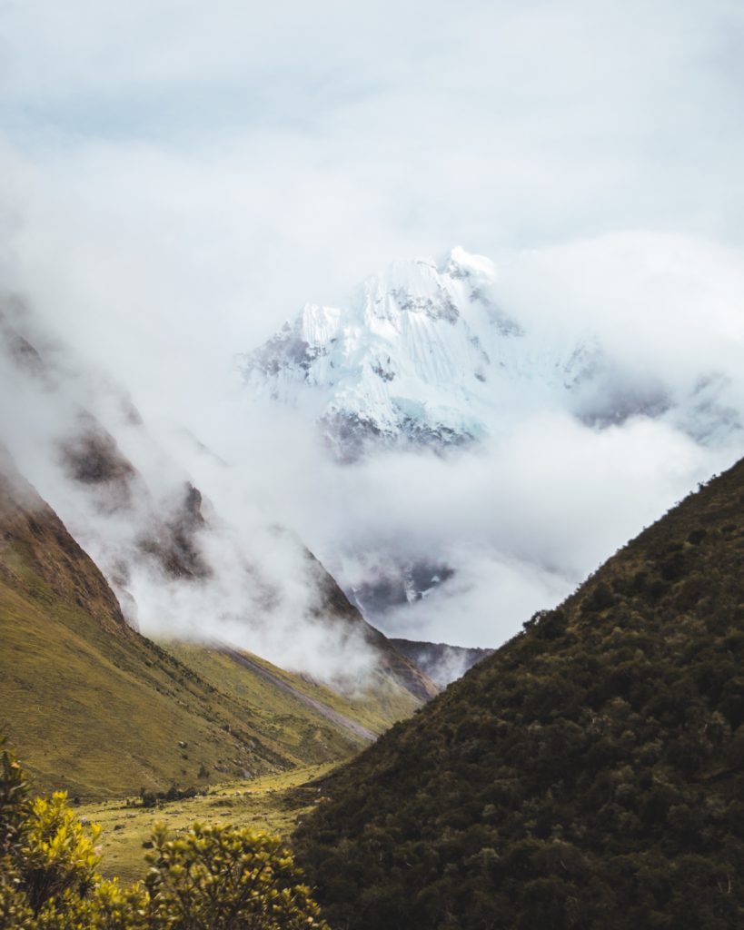 the incredible inca trail views in peru