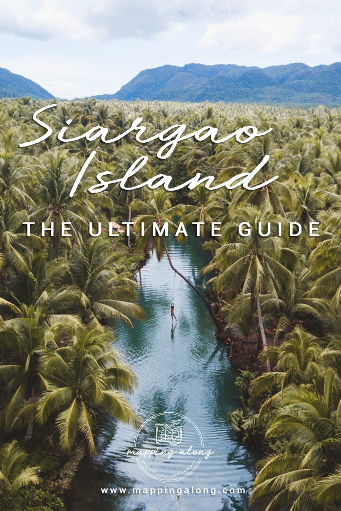 Siargao Island travel guide Pinterest cover