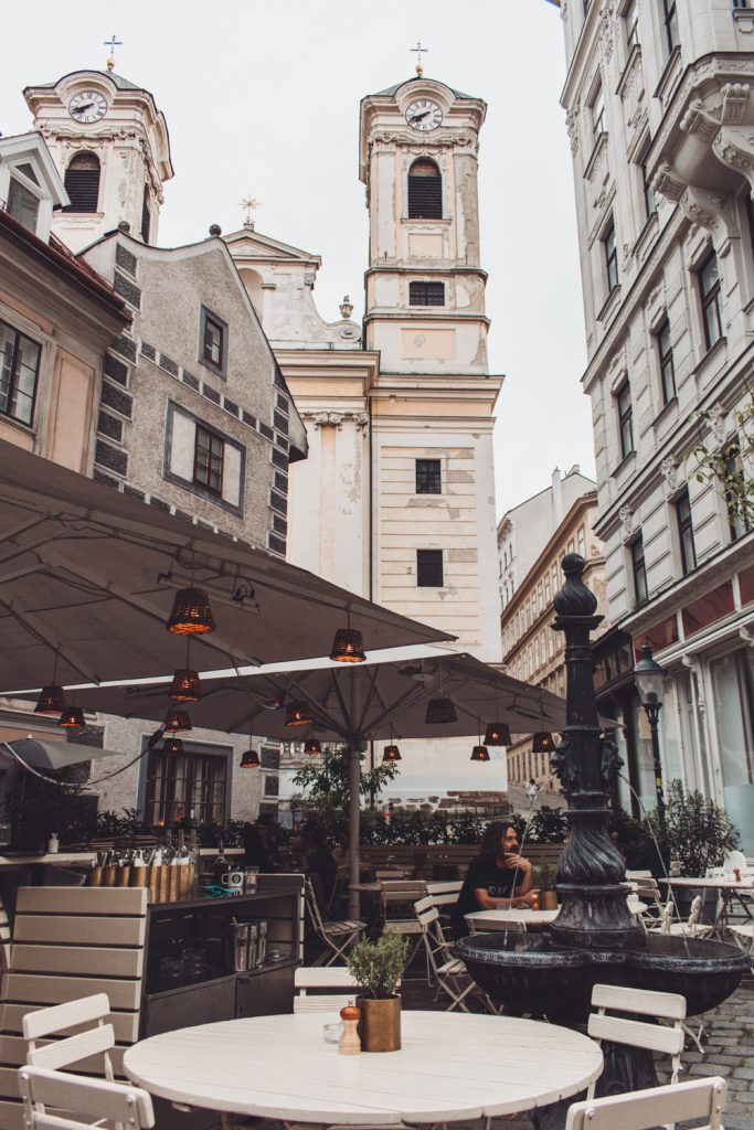 outdoor terrace in Vienna