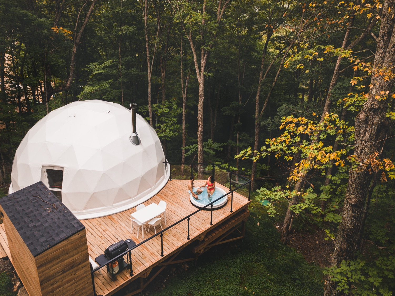 Three out of the ordinary places to stay in Quebec