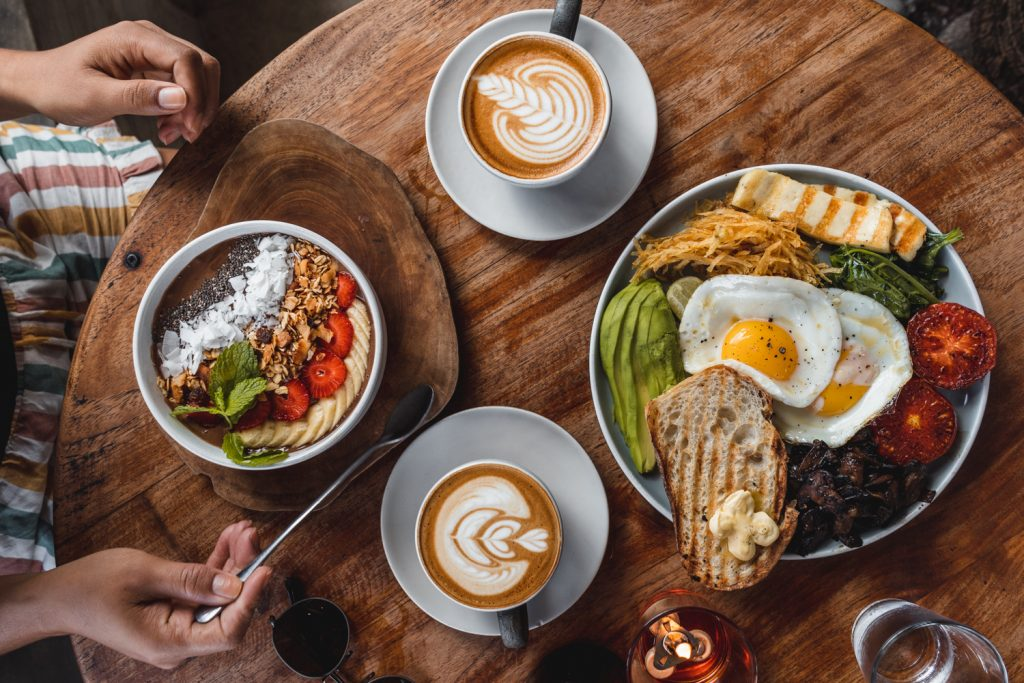 Suka espresso cafe in Bali breakfast food photography