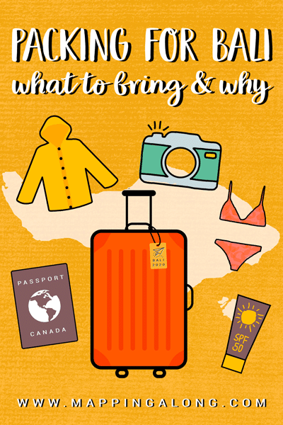 Bali Ultimate Packing List